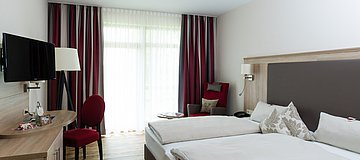 Doppelzimmer im Hotel St. Georg in Bad Aibling